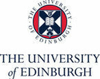 UOE logo and crest on white background, blue text