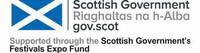 Scottish Government Expo fund logo on white background